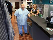 """065ef7a56a Abren tienda para el hombre """"plus"""""""