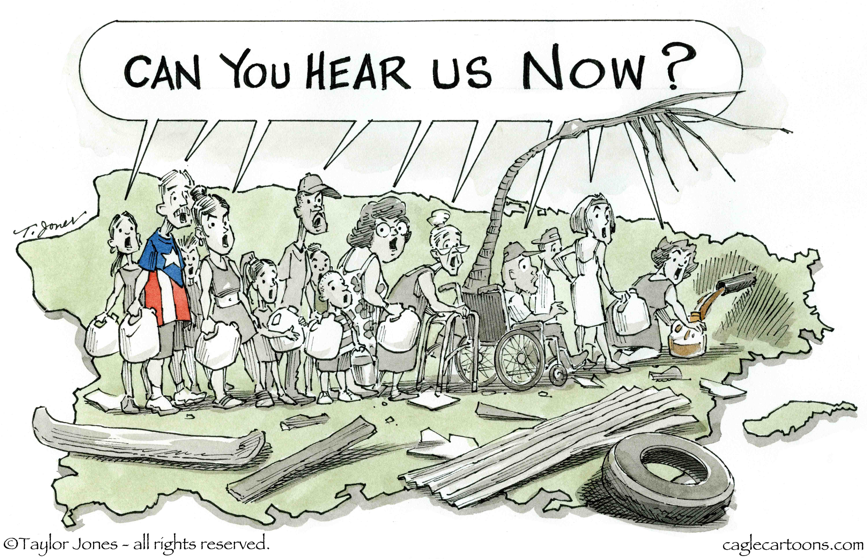 Puerto Rico en un solo clamor
