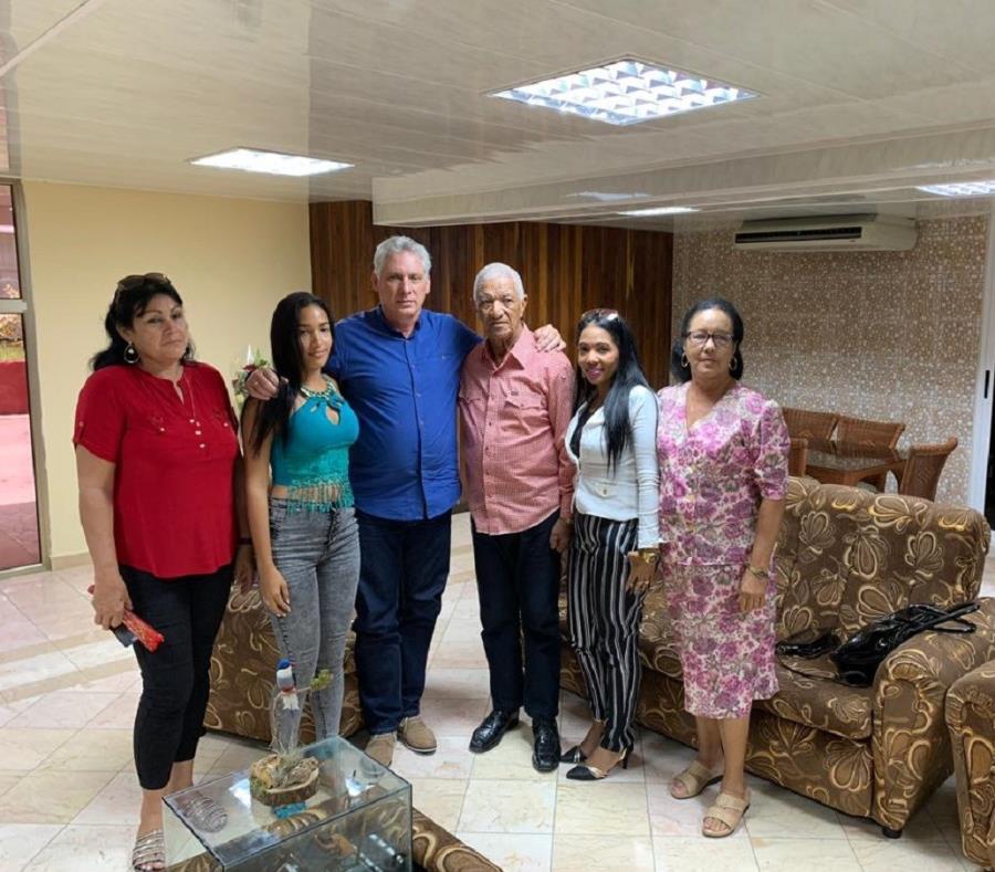Intercambió Díaz-Canel con familiares del médico tunero secuestrado