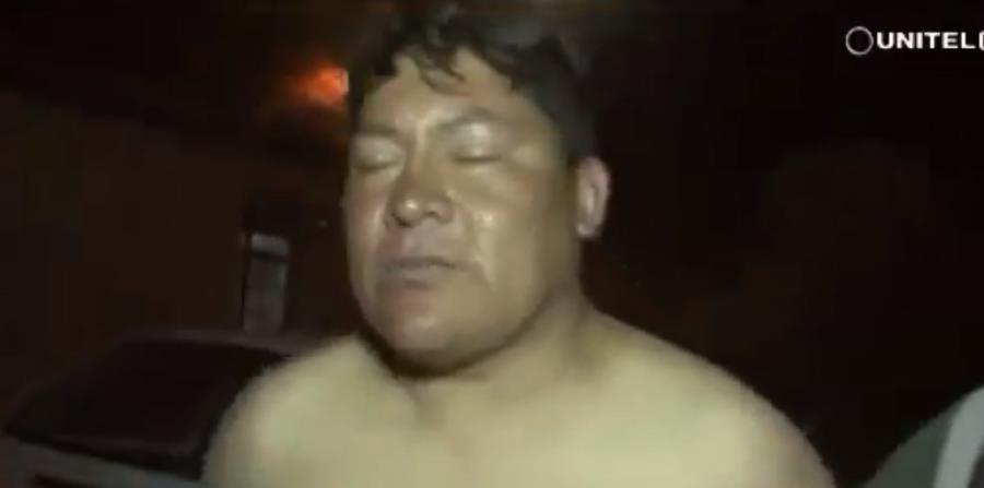 El diputado Domingo Soto fue detenido por la Policía cuando intentaba abordar, en estado de ebriedad, un avión en la ciudad de Cochabamba (horizontal-x3)