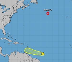 Dos tormentas se desarrollan en los océanos Atlántico y Pacífico