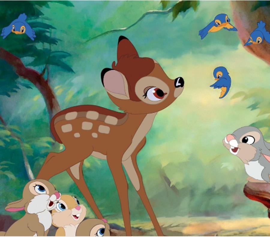 En sus aventuras, Bambi aprenderá lecciones sobre el amor, la pérdida de los seres queridos y de la madurez. (semisquare-x3)