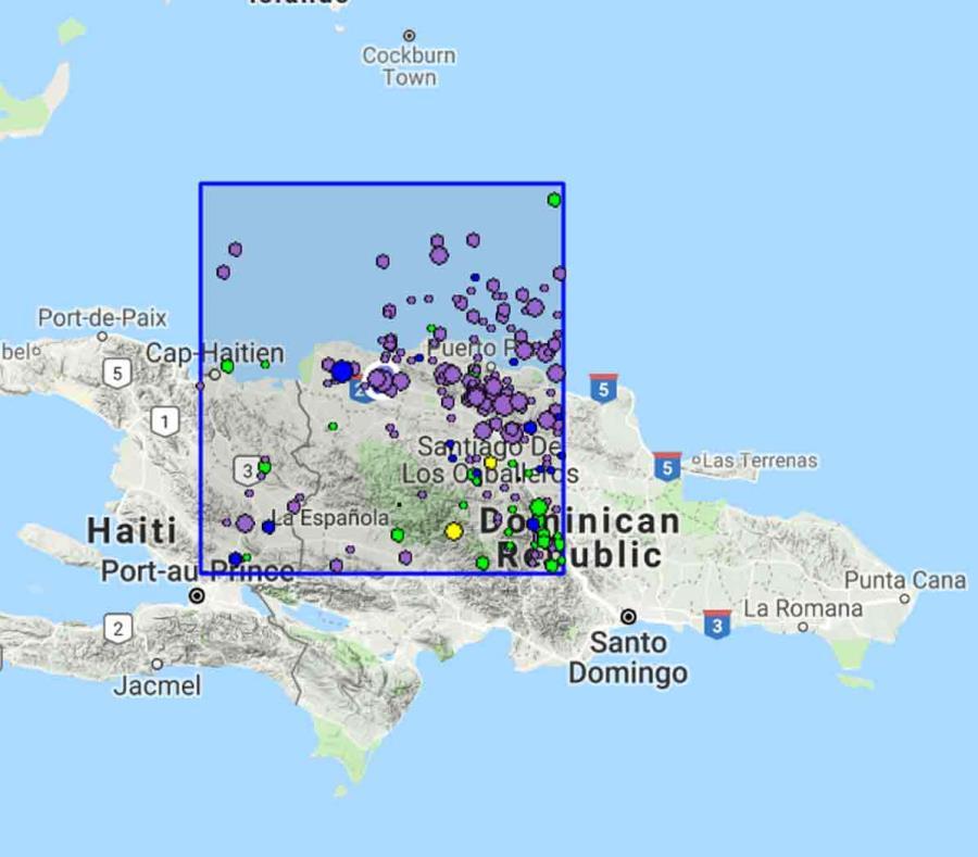 Sismo causa destrozos en escuelas y hospitales de República Dominicana