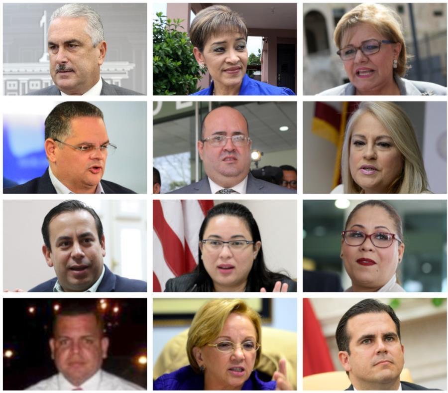 La pesquisa por el chat de WhatsApp ha tocado a un gran número de funcionarios de la administración de Ricardo Rosselló. (Fotomontaje / José Ayala Gordián) (semisquare-x3)