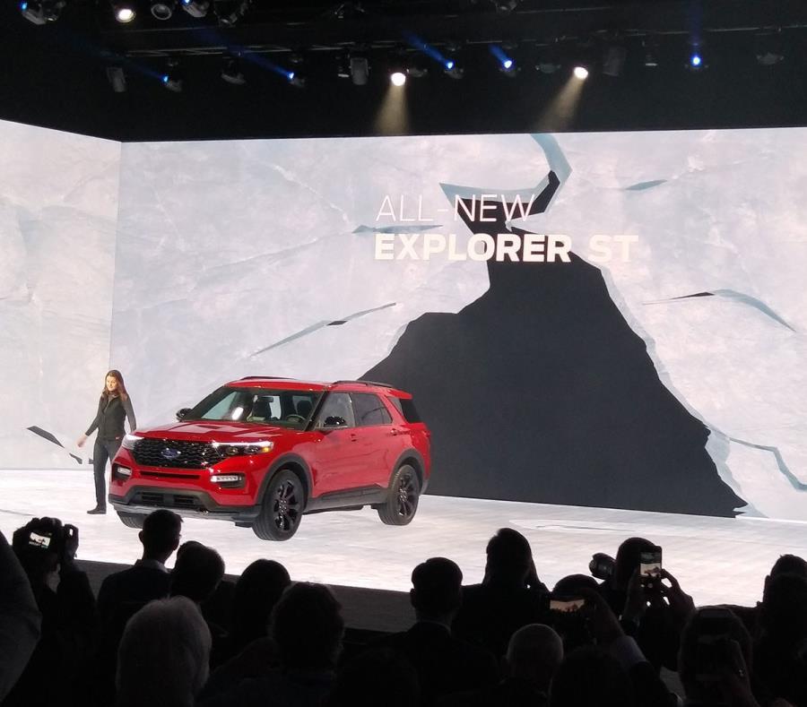 Ford presenta el Explorer ST 2020 y Explorer Hybrid 2020