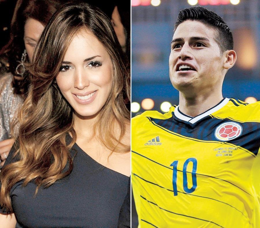 Shannon de Lima y James Rodríguez estarían saliendo desde septiembre del 2018. (GFR Media) (semisquare-x3)