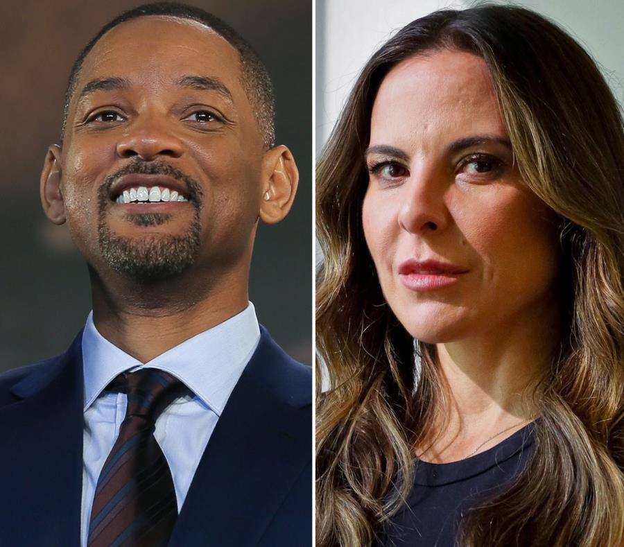 Will Smith y Kate del Castillo graban en México. (AP) (semisquare-x3)