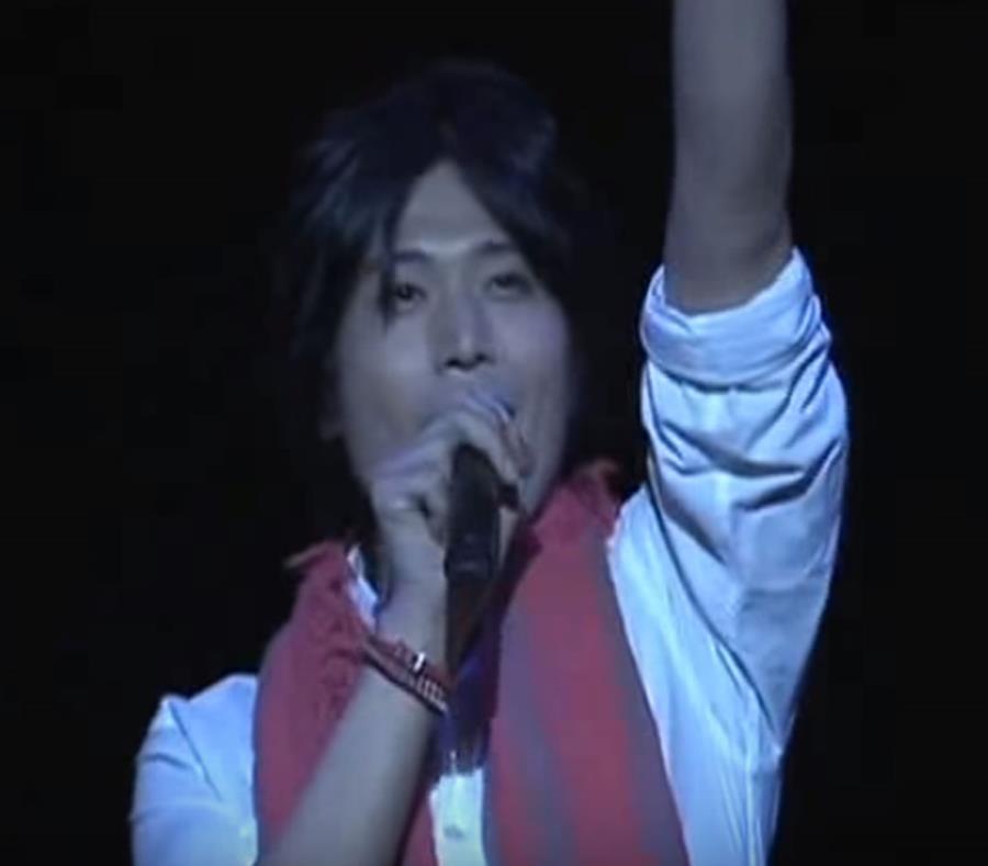Cayó de escenario Hiroki Takahashi, cantante de Dragón Ball