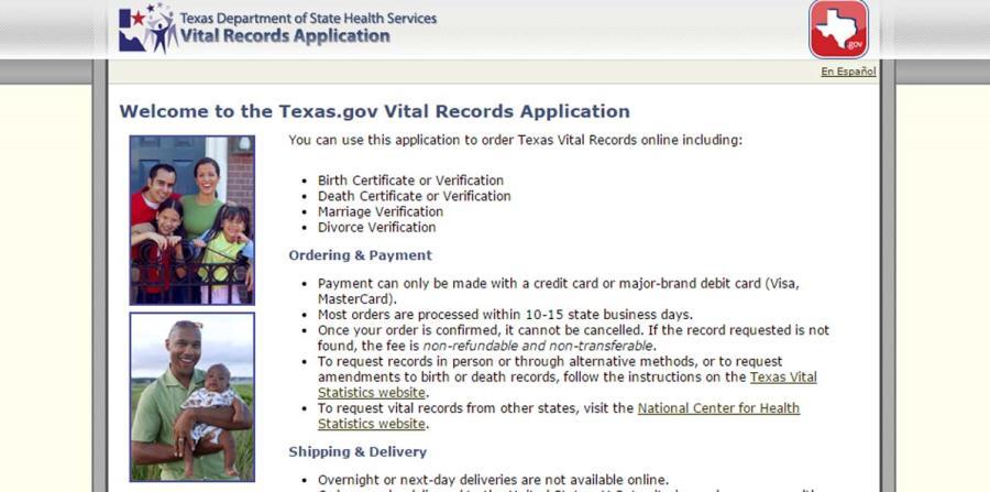 Texas puede seguir negando la entrega de actas de nacimiento | El ...