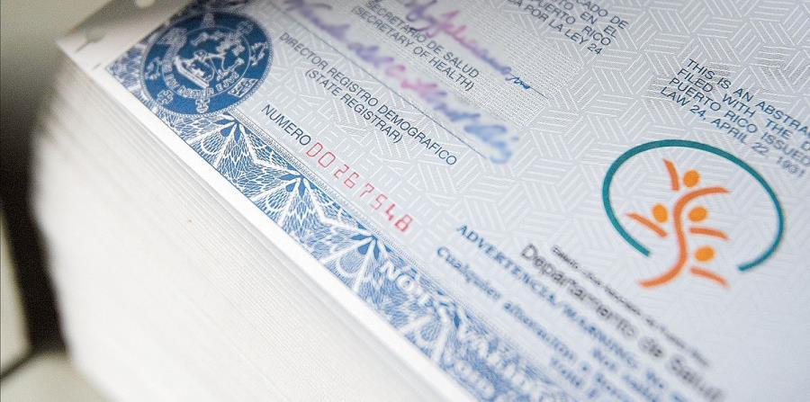 Drástica baja en solicitudes de certificados en Registro Demográfico ...