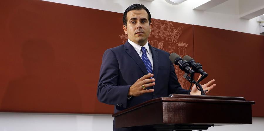 Rosselló hizo el anuncio durante el almuerzo mensual de la Asociación de Constructores de Puerto Rico. (horizontal-x3)