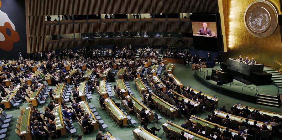 La campaña a favor de la excarcelación de Montes declara hoy por vez primera ante el Comité de Descolonización de la ONU sobre el caso de la espía boricua. (horizontal-x3)