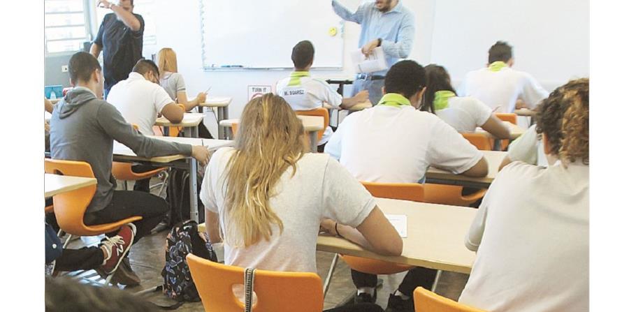 La PAA se ofrecerá nuevamente el jueves 15 de febrero a todos los estudiantes de undécimo grado de las escuelas públicas del país. La administración sabatina se llevará a cabo el 24 de febrero en ciertas escuelas superiores. (horizontal-x3)