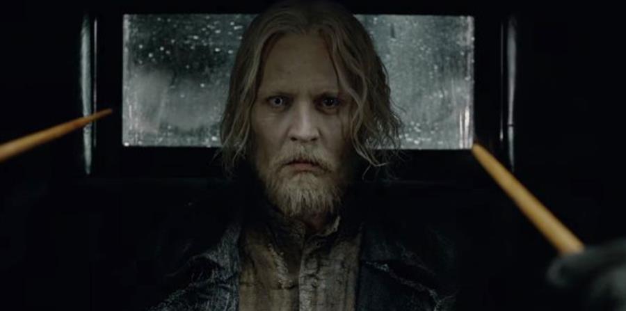 """""""Animales fantásticos: los crímenes de Grindelwald"""" llega a Estados Unidos el viernes 16 de noviembre del 2018. Aquí Johnny Depp. (Captura / YouTube) (horizontal-x3)"""