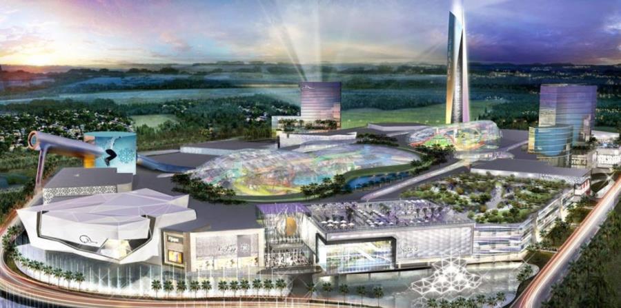 Así lucirá el centro comercial American Dream Miami. (Captura / americandream.com) (horizontal-x3)