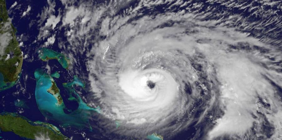 Imagen satelital de un huracán. (Captura/ NASA) (horizontal-x3)