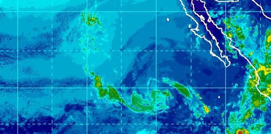 Imagen de satélite de la depresión tropical Daniel. (Captura / NOAA) (horizontal-x3)