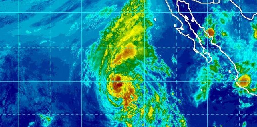 Imagen de satélite de la tormenta tropical Fabio. (Captura / NOAA) (horizontal-x3)