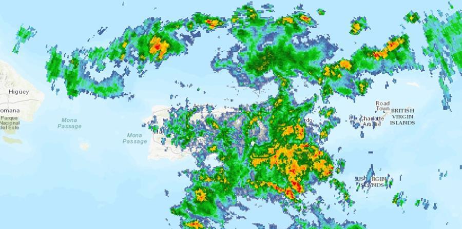 Imagen de satélite de la onda tropical que se aproxima a la isla y que llegó a convertirse en el huracán Beryl. (Captura / NOAA) (horizontal-x3)