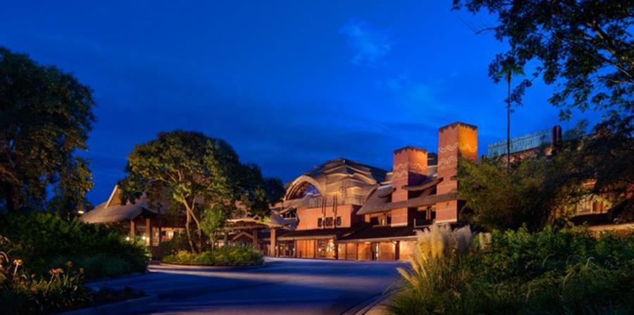 Vista del Animal Kingdom Lodge. (Captura / disneyworld.disney.go.com) (horizontal-x3)