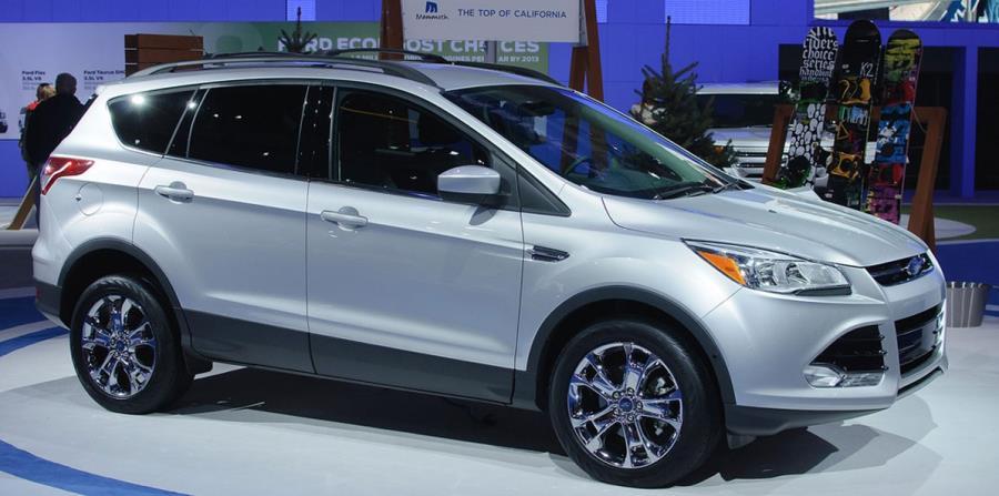 Modelo Ford Escape del 2013. (Archivo) (horizontal-x3)