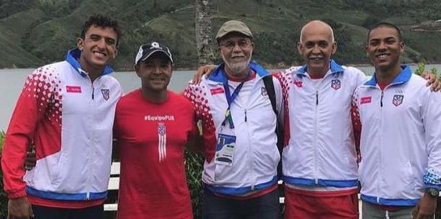 Equipo de Canotaje de Puerto Rico durante su participación en Barranquilla 2018 (horizontal-x3)