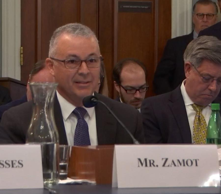 Noel Zamot ante el Comité de Recursos Naturales de la Cámara de Representantes federal. (Captura YouTube) (semisquare-x3)