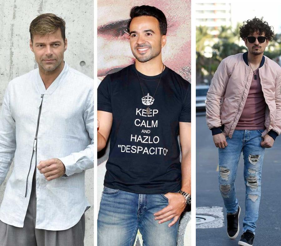 Ricky Martin, Luis Fonsi y Tommy Torres. (Archivo / GFR Media) (semisquare-x3)