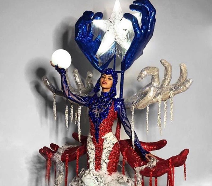 El desile de traje típico de la representante de Puerto Rico en Miss Universe, Kiara Liz Ortega, fue el vídeo más visto en el año en endi.com. (GFR Media) (semisquare-x3)