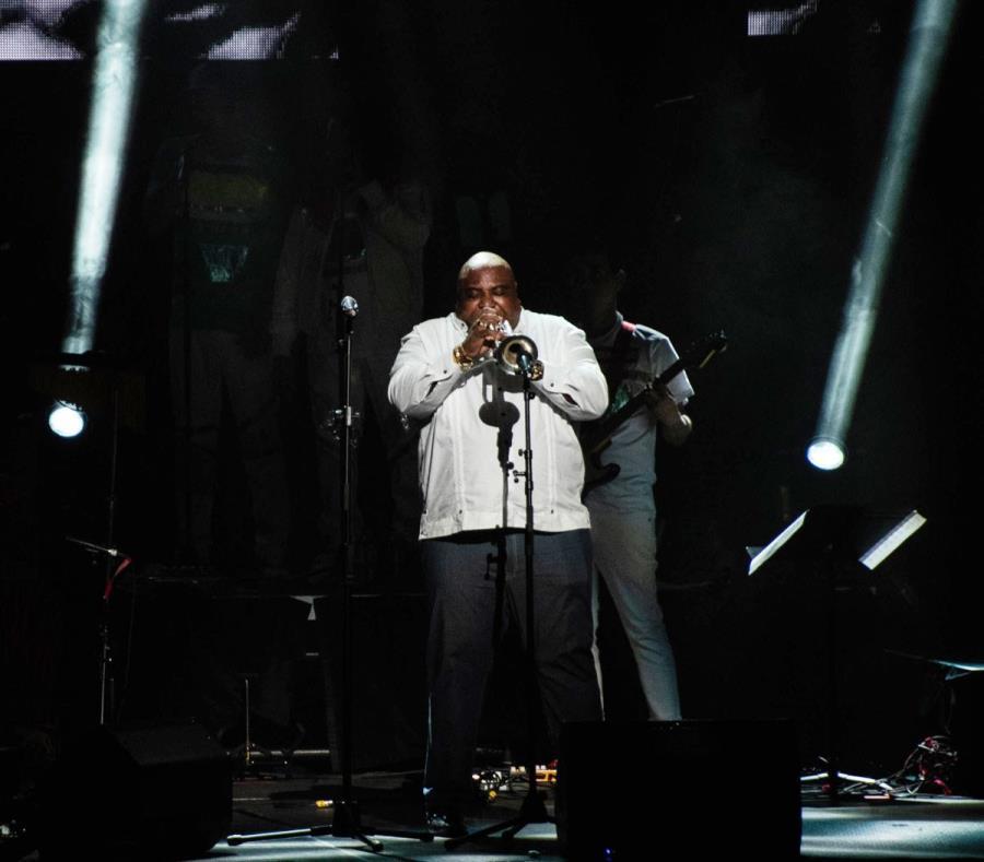 Alexander Abreu es el trompetista más cotizado ahora mismo de la música popular cubana.  (GFR Media) (semisquare-x3)