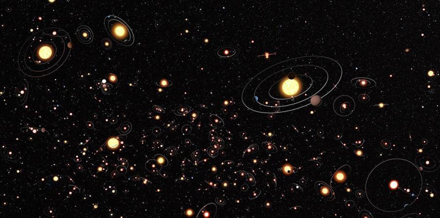Los investigadores identificaron 121 exoplanetas que tienen órbitas dentro de las zonas habitables de sus estrellas (horizontal-x3)
