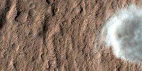 Las nubes de Marte se forman a partir de restos de meteoros