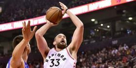 Marc Gasol acepta opción de un año para quedarse con los Raptors