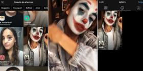 """Así puedes activar el filtro """"Joker"""" en Instagram y tomarte selfies"""