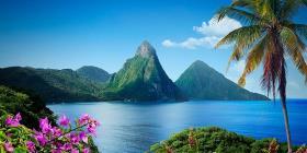 La belleza caribeña de Santa Lucía
