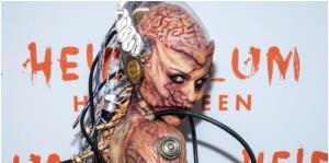 Famosos se lucen con sus disfraces en la fiesta de Halloween de Heidi Klum