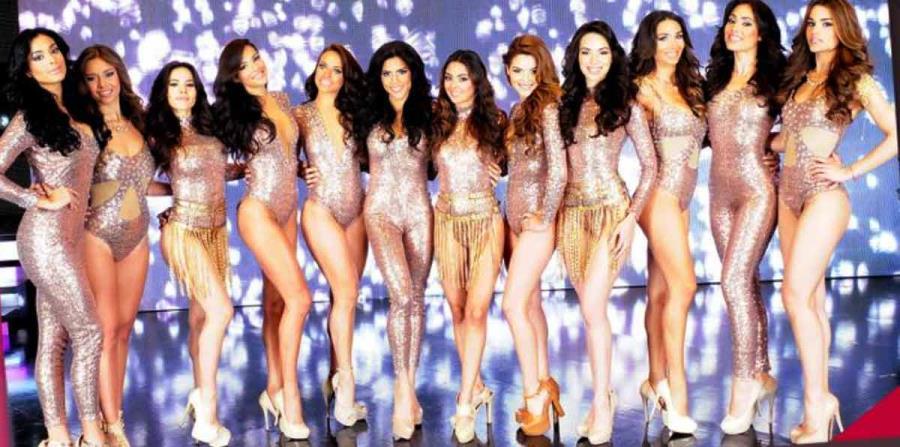 Las participantes de Nuestra Belleza latina de 2015. (horizontal-x3)