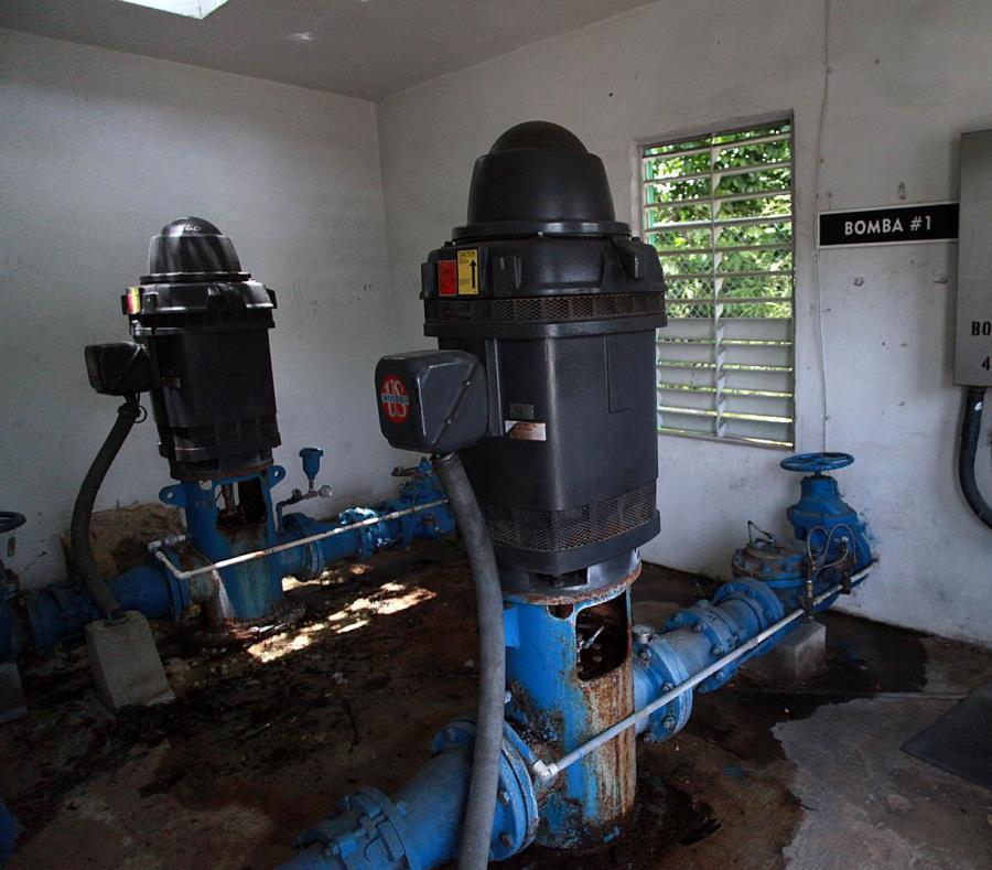 Las estaciones de bomba  permiten que las comunidades más elevadas y remotas tengan servicio de agua. (GFR Media) (semisquare-x3)