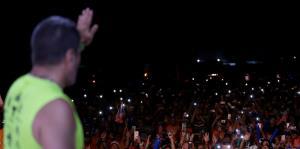 "Raymond Arrieta culmina su última caminata de ""Da Vida"""
