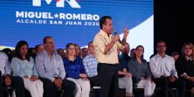 Miguel Romero lanza su campaña a la alcaldía de San Juan