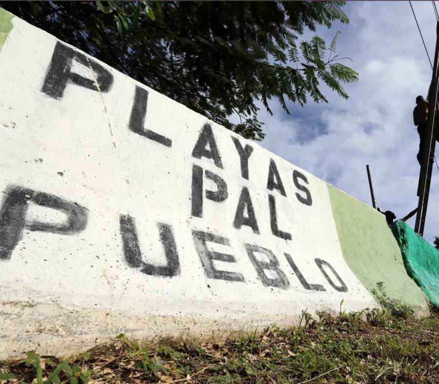 El campamento Playas pa'l Pueblo se estableció en 2005 (semisquare-x3)