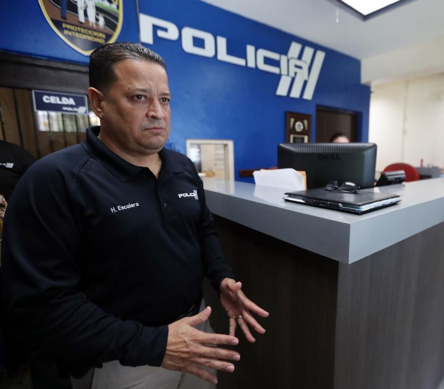 Henry Escalera, comisionado del Negociado de la Policía. (GFR Media) (semisquare-x3)
