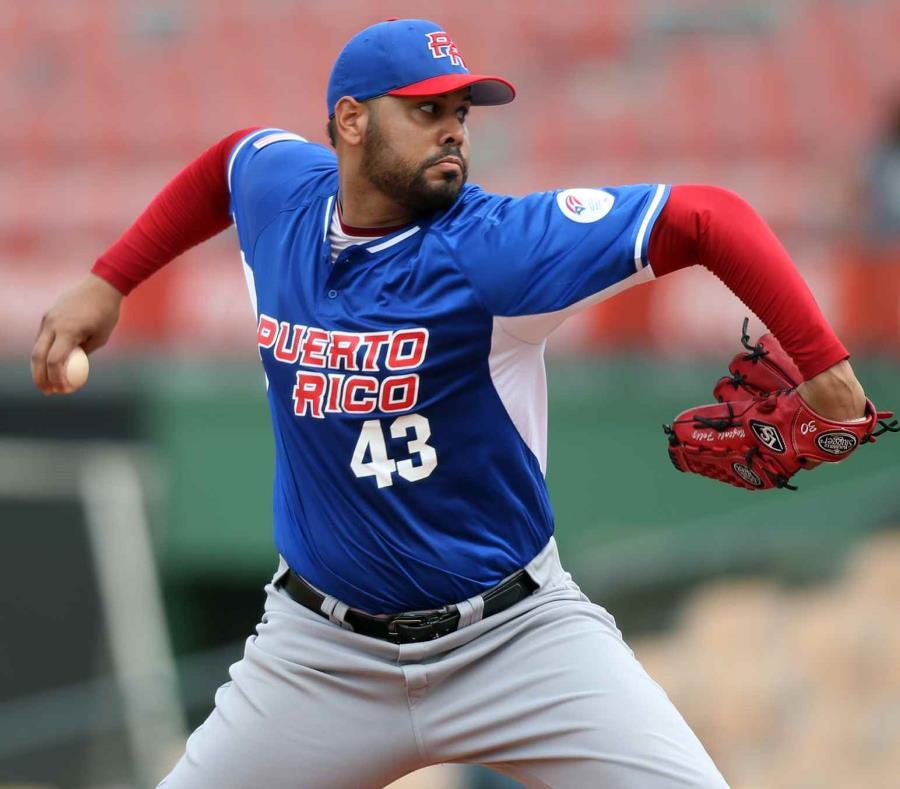 El veterano abridor Adalberto Flores lanzará el primer partido de Puerto Rico en los Juegos Centroamericanos y del Caribe. (semisquare-x3)