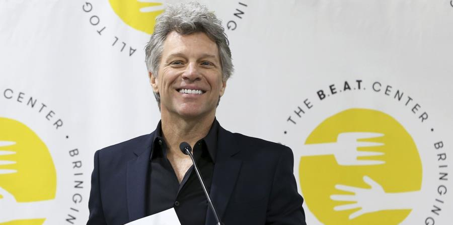 El músico Jon Bon Jovi (horizontal-x3)