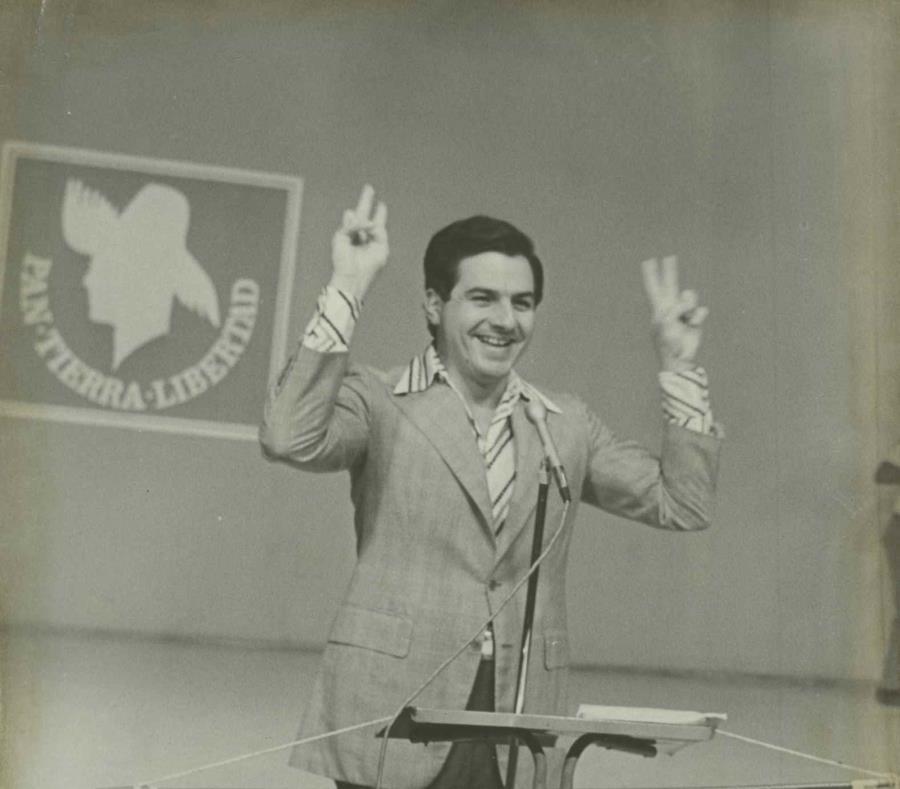 El exgobernador Rafael Hernández Colón falleció en la mañana del jueves. En la imagen, el líder del Partido Popular Democrático en 1972. (GFR Media) (semisquare-x3)