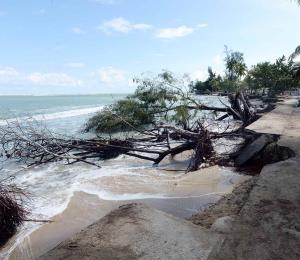 Puerto Rico sin escudo contra el cambio climático