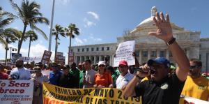 Así fue la marcha del Capitolio hasta La Fortaleza