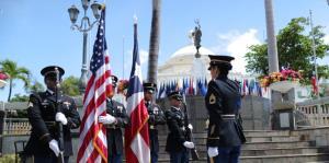 Rinden homenaje póstumo a 17 soldados de la Primera Guerra Mundial y Corea