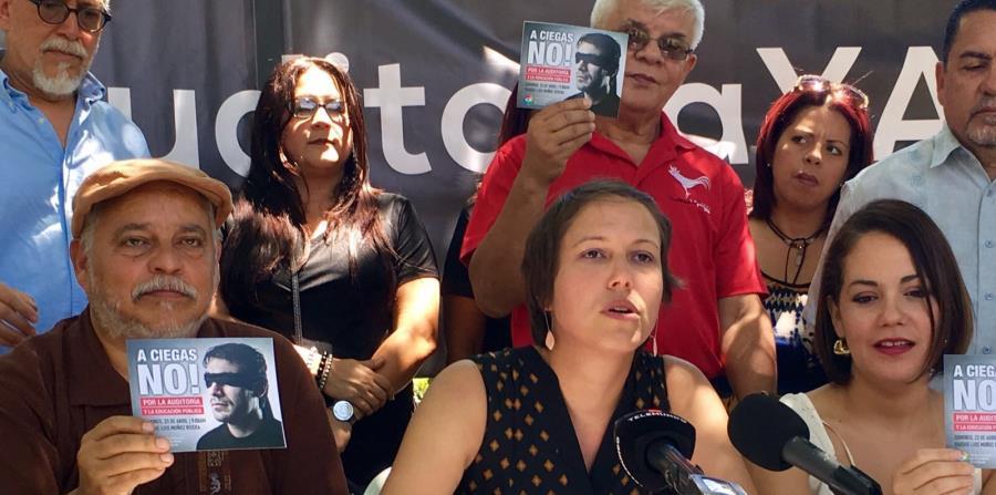 La licenciada Eva Prados, portavoz del Frente Ciudadano por la Auditoría de la Deuda, indicó que recabarán el apoyo general para financiar los trabajos. (horizontal-x3)