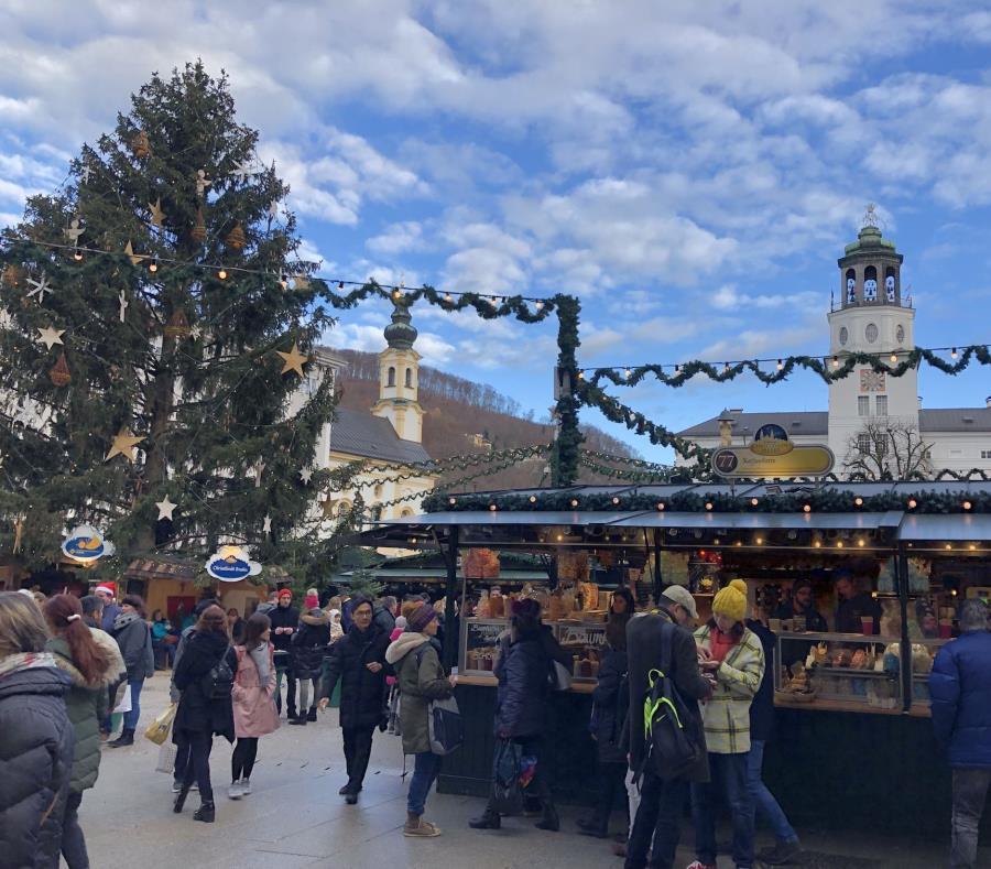 Una de las paradas del Crystal Cruise por el Danubio, es Salzburgo, Austria. (Gregorio Mayí / Especial para GFR Media) (semisquare-x3)